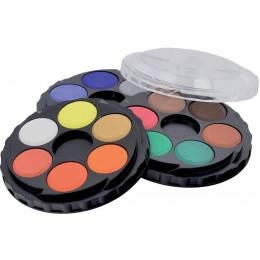 Vodové barvy kulaté Koh-i-Noor 18 barev