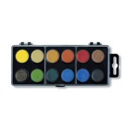 Vodové barvy Koh-i-Noor 12 barev