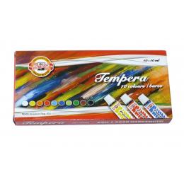 Temperové barvy Koh-i-Noor 10 x 10ml