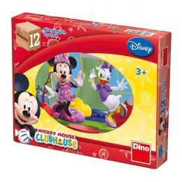 Dino Dřevěné kostky Mickey Mouse 12ks