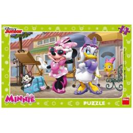 Dino dětské puzzle Minnie na MONTMARTRU 15d deskové