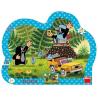 Dino dětské puzzle Krtek a autíčko 25d deskové