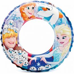 Nafukovací kruh Frozen 51cm Intex 56201