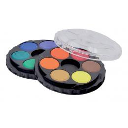 Koh-I-Noor Barvy vodové kulaté 12 barev