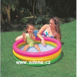 Bazén nafukovací dětský SOFT DNO 86x25